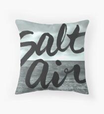 Salt Air Ocean Throw Pillow