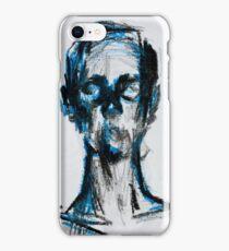 Blue man iPhone Case/Skin