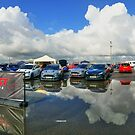 Big Puddle Reflections at Ford Fest by Vicki Spindler (VHS Photography)