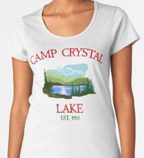 Camp Crystal Lake Women's Premium T-Shirt