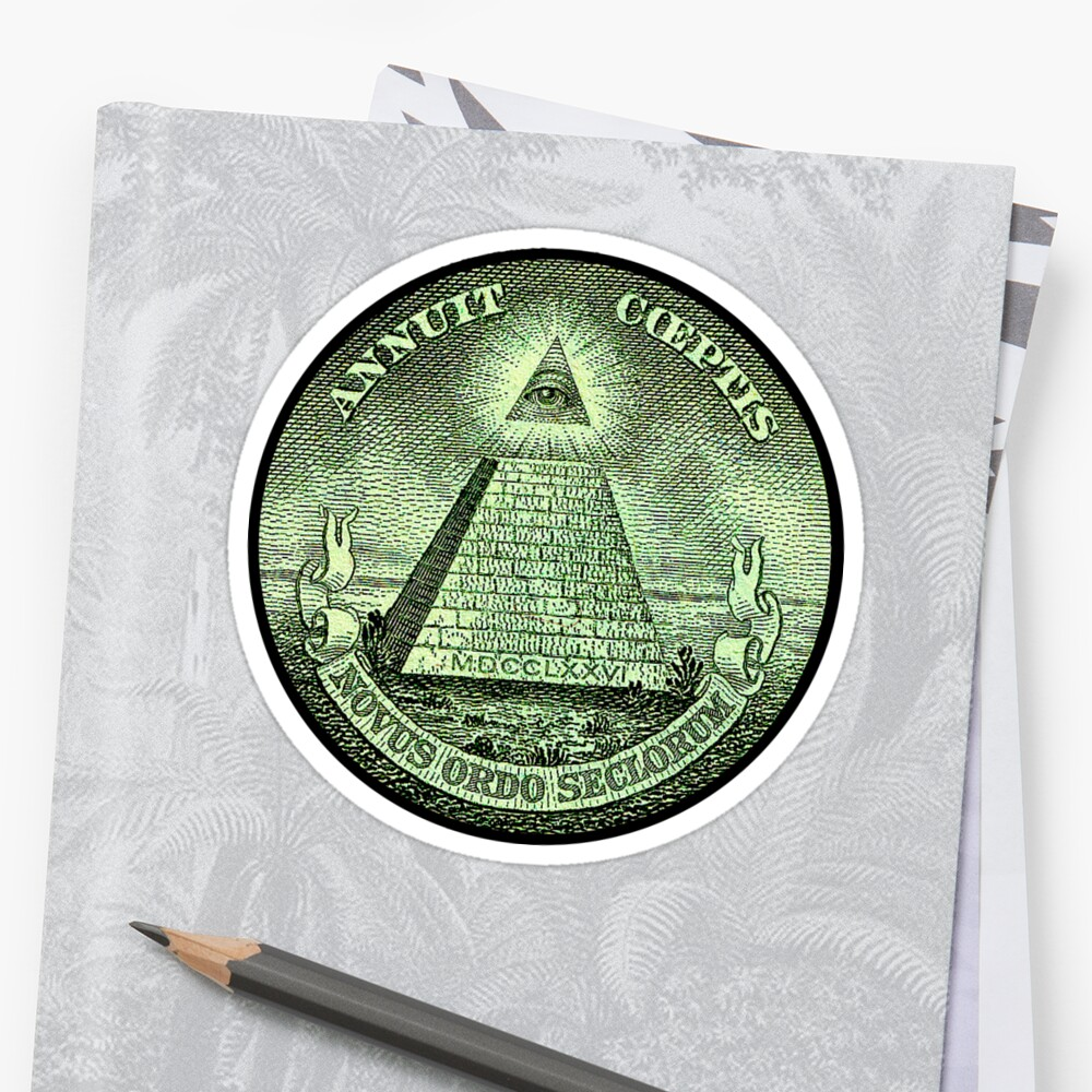 Eye Of Providence America Usa Mystic Dollar Bill Money