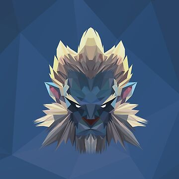 Phantom Lancer Low Poly Art by giftmones