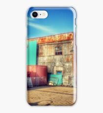 Waiting for the Train - Hoboken Terminal New Jersey iPhone Case/Skin