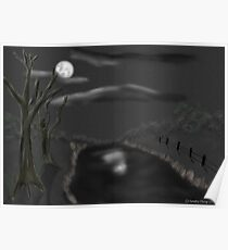 Haunted By Moonlight Poster