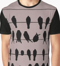 More Birds on Wires Graphic T-Shirt