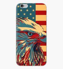 Amerikanischer patriotischer Adler kahl iPhone-Hülle & Cover