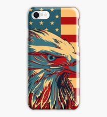 American Patriotic Eagle Bald iPhone Case/Skin