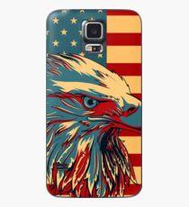 Funda/vinilo para Samsung Galaxy American Patriotic Eagle Bald