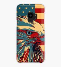 American Patriotic Eagle Bald Case/Skin for Samsung Galaxy