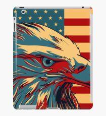 American Patriotic Eagle Bald iPad Case/Skin