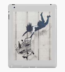 SHOP, SHOPPING, BANKSY, Graffiti Artist, Street Artist, 'Shop Until You Drop' Mayfair, London. iPad Case/Skin