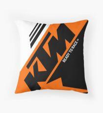 ktm: throw pillows | redbubble