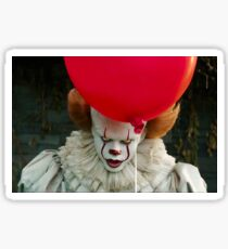 Clown and balloon Sticker