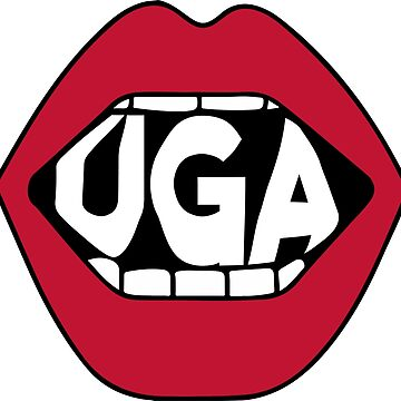 UGA Lips by emmybdesigns