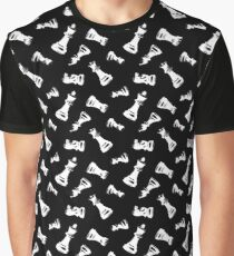 Chess Pieces Graphic T-Shirt