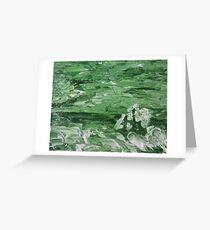 The Green Dutchess Greeting Card