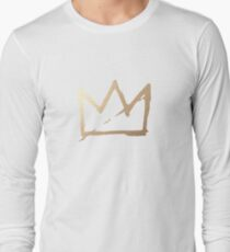 GOLD BASQUIAT CROWN T-Shirt