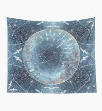 Capricorn & Aquarius friendship Wall Tapestry