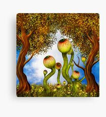 Eyeball Garden Canvas Print