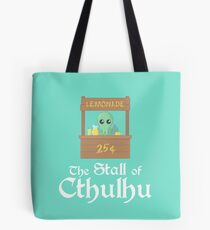 The Stall of Cthulhu Lime 6 Tote Bag