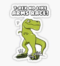 T-Rex Arms Race Sticker
