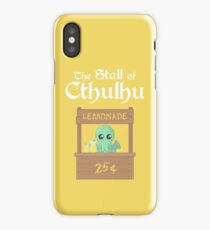 The Stall of Cthulhu Lemon 4 iPhone Case/Skin