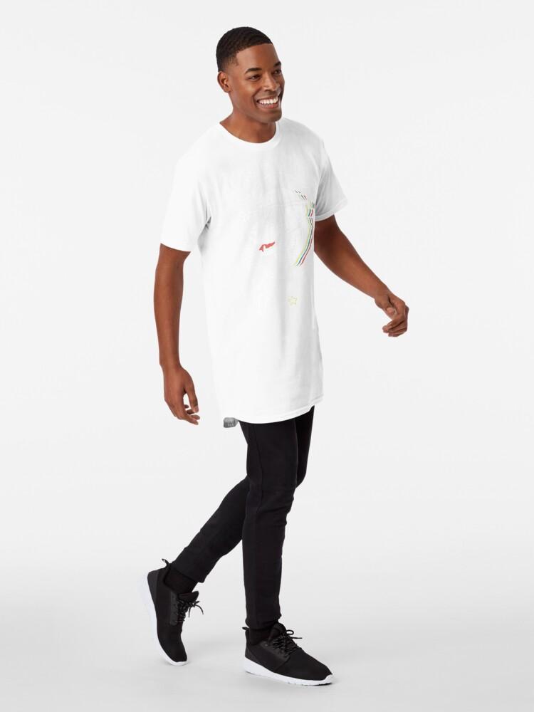 Vista alternativa de Camiseta larga Camisa de perro