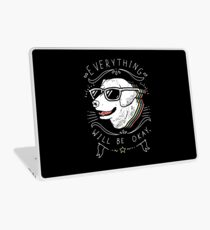 Dog Shirt Laptop Skin