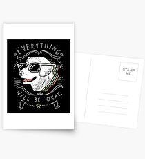 Dog Shirt Postcards