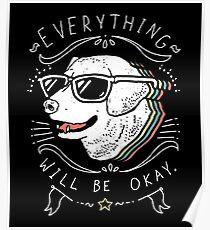Hundehemd Poster