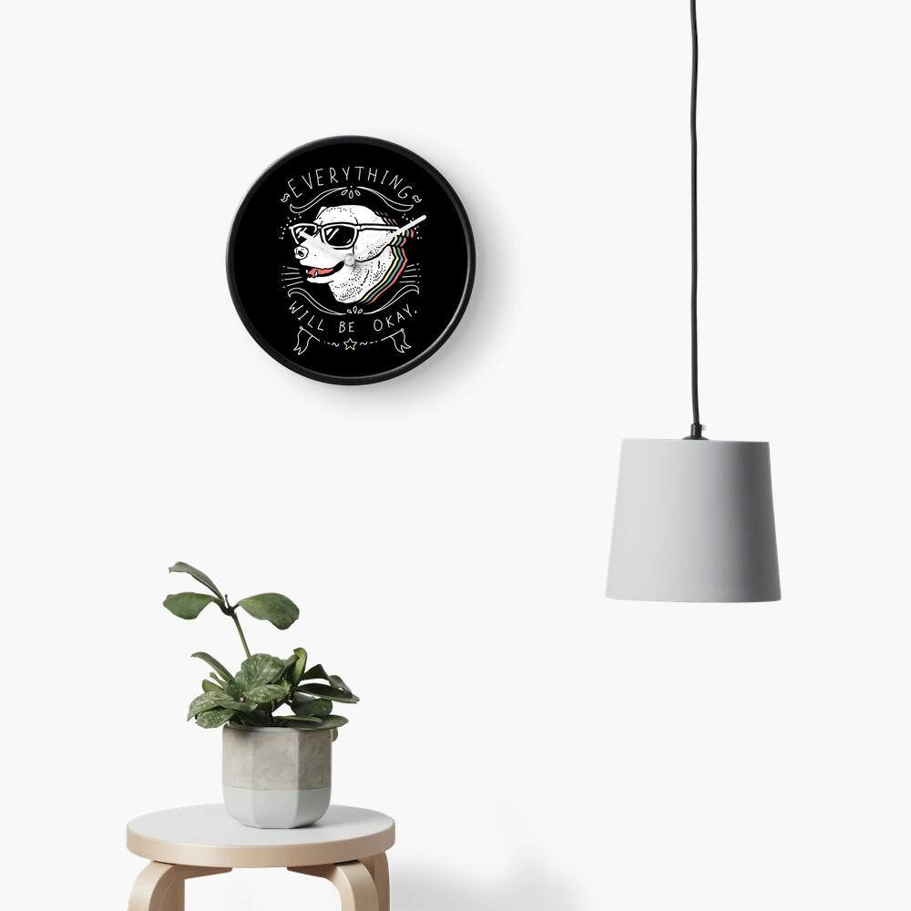 Dog Shirt Clock