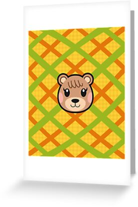 Maple animal crossing greeting cards by purplepixel redbubble maple animal crossing by purplepixel m4hsunfo Images