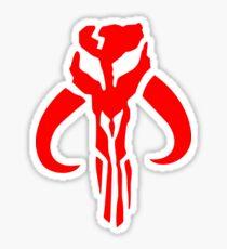 Jaing Head Mandalorian | Star Wars | Scifi Sticker