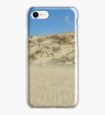 Sand Dune in blue sky iPhone Case/Skin