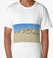 Sand Dune in blue sky Long T-Shirt