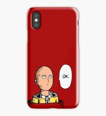 One Punch Man Saitama iPhone Case/Skin