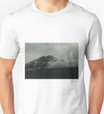 Misty Mountains in Canada T-Shirt
