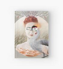 Bird of Cranes Hardcover Journal