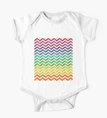 Wavy Colofrul pattern 01 Kids Clothes