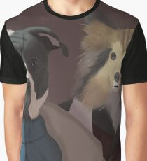 Dogs in Suits Graphic T-Shirt