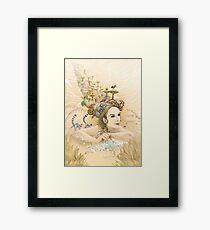 Animal princess Framed Print