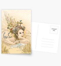 Animal princess Postcards