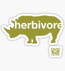 Herbivore Green Sticker