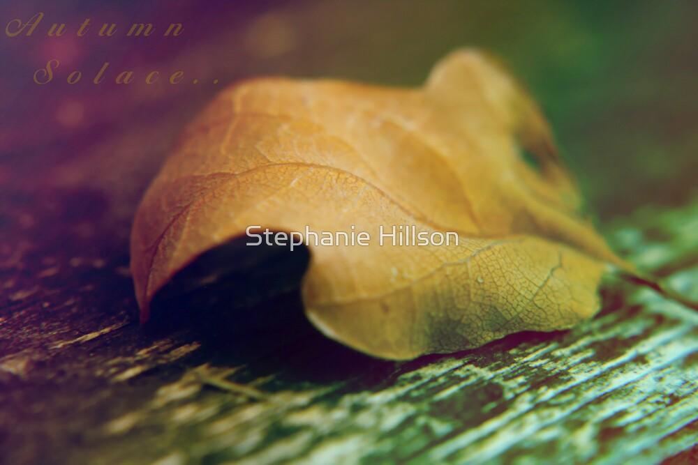 Autumn Solace  by Stephanie Hillson