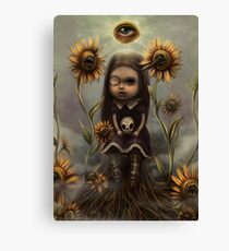 Death sighs Canvas Print