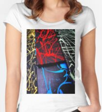 Colourified Women's Fitted Scoop T-Shirt