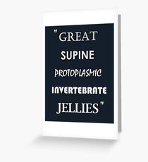 Great Supine Boris Quote Greeting Card