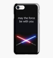 the force of star wars iPhone Case/Skin