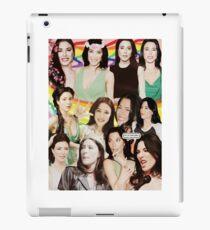 Jaime Murray Collage art iPad Case/Skin