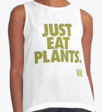 Just Eat Plants. Contrast Tank